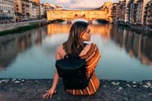 城市旅行美女精美图片