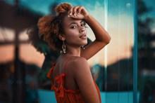 黑人性感艺术写真摄影图片素材