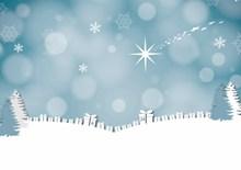 圣诞节淡雅背景图片大全