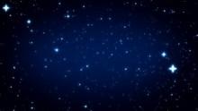 蓝色星空背景精美图片