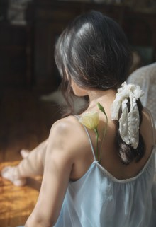 性感亚洲大胆人体模特图片下载