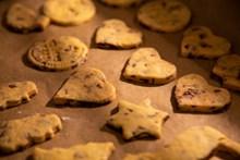 自制各种形状饼干高清图片