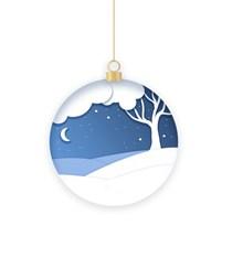 圣诞节创意插画图片