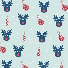 圣诞节小图案背景图片下载