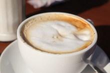 卡布奇诺咖啡特写图片大全