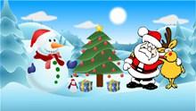 圣诞主题海报素材图片下载