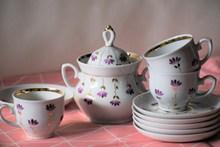 精美陶瓷茶具套高清图