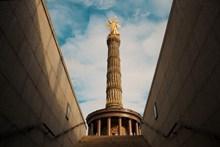 柏林胜利纪念柱精美图片