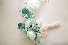 小清新结婚胸花图片下载