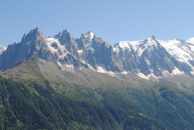 阿尔卑斯高山景观图片下载