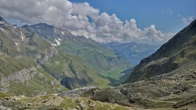 高山山脉景观图片素材