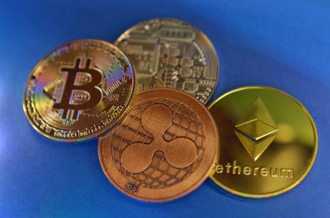 金色货币精美图片