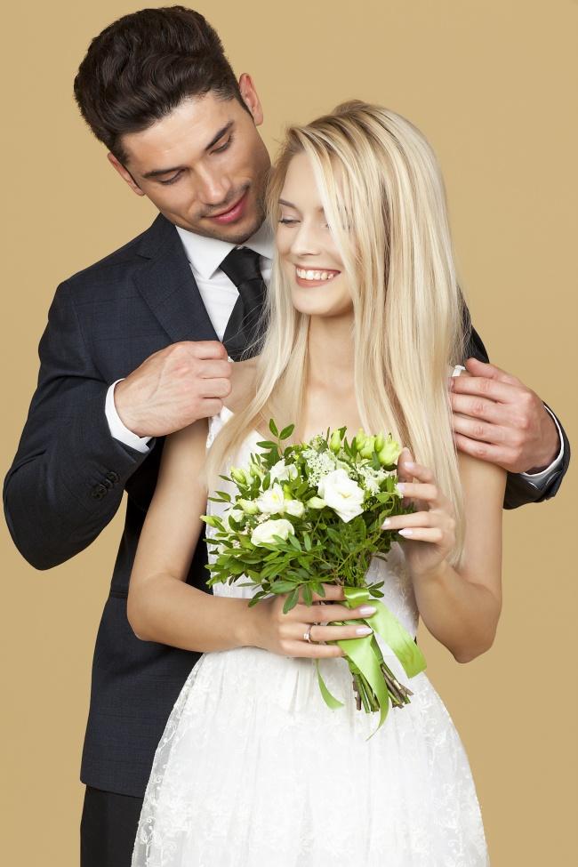 情侣婚纱照拍摄高清图片