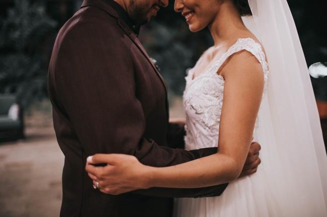 婚纱礼服写真高清图