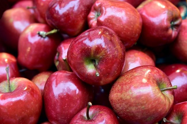 大红苹果丰收精美图片