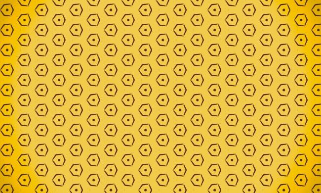 符号图案黄色背景高清图