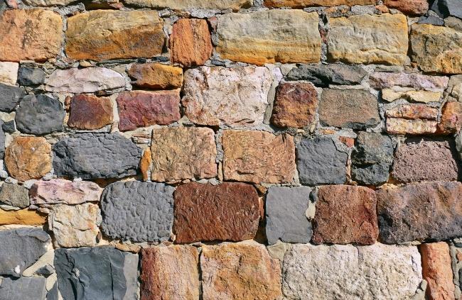 岩石石块背景素材高清图