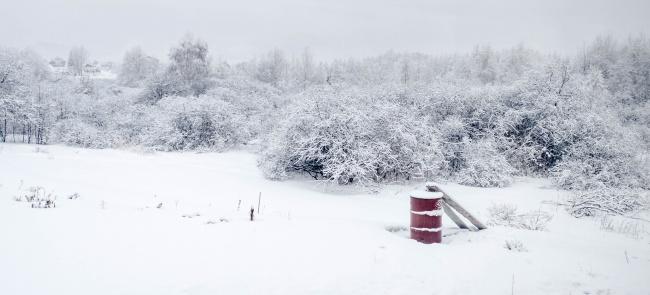 冬日唯美雪景图片