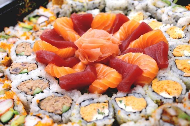 寿司三文鱼图片大全