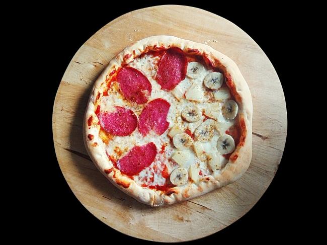 美味水果披萨图片大全