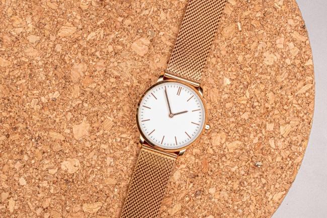 金属女士手表图片