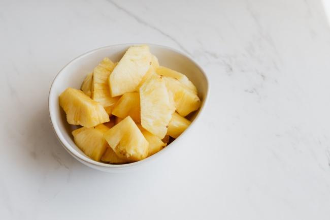 一碗菠萝片高清图