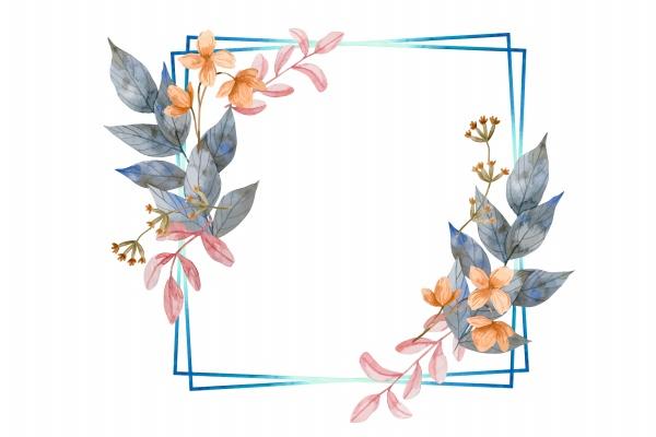 精美花卉边框图片下载