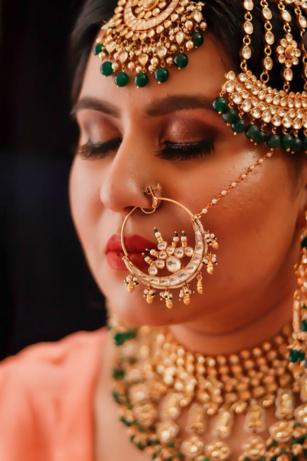 印度美女头像高清图