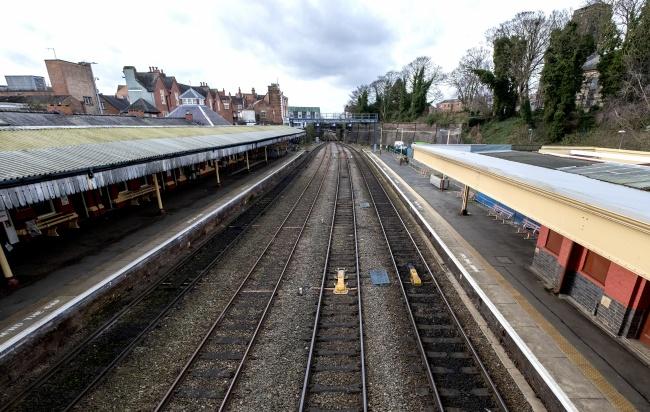 英格兰铁路轨道精美图片