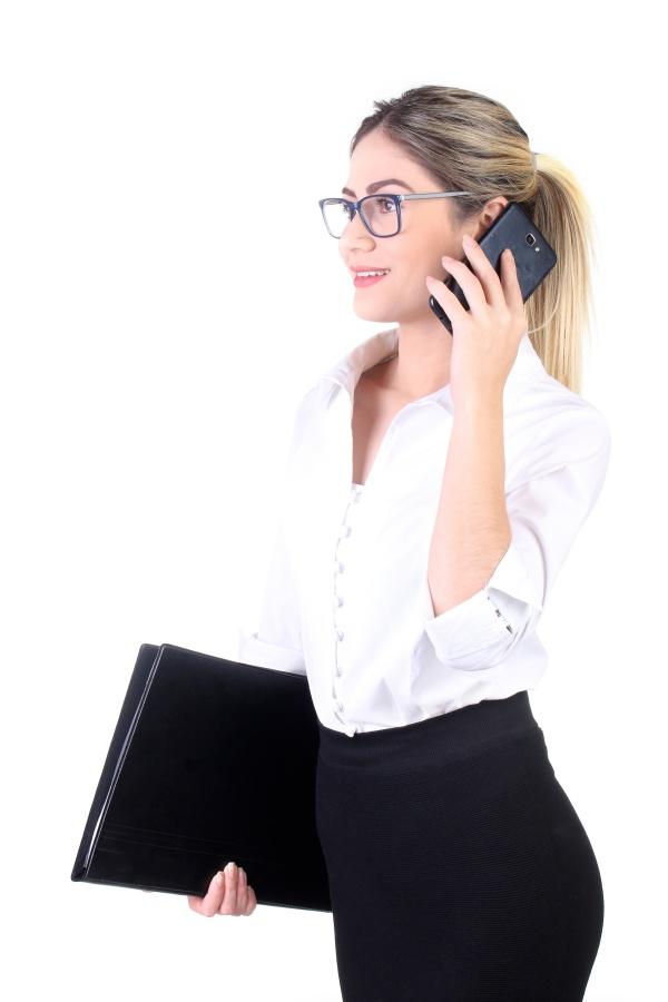 白色商务衬衫翘臀美女图片下载