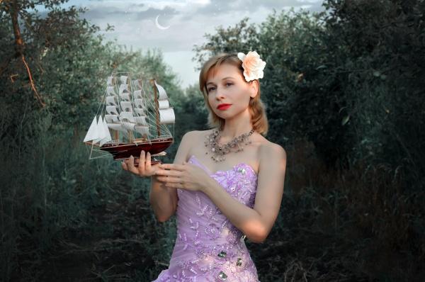 欧美白皙美女写真图片素材