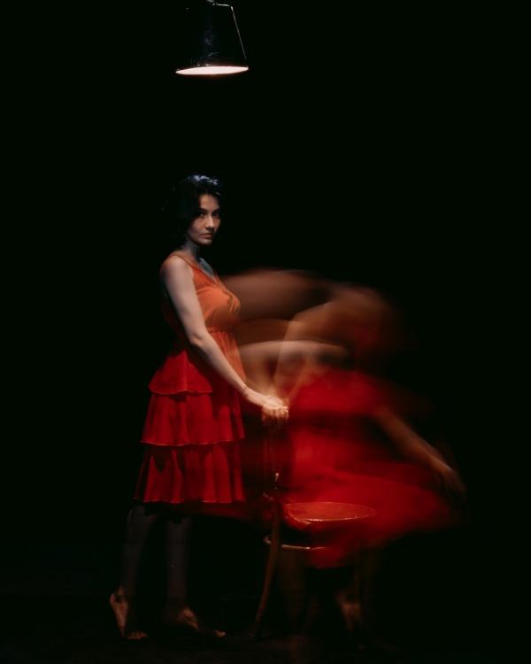 欧美黑色风格美女写真高清图片
