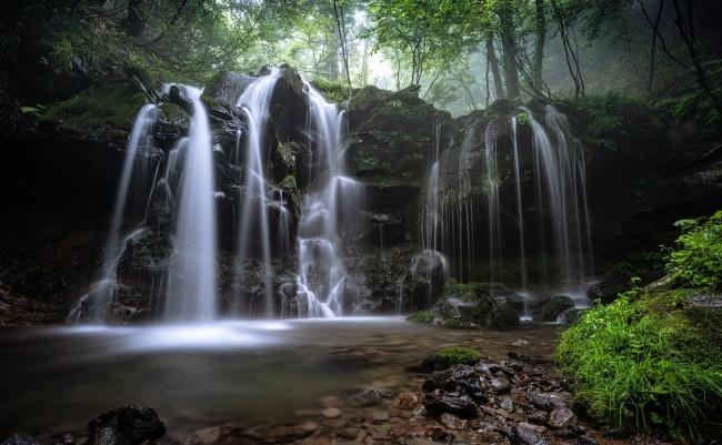 漂亮瀑布风景图片大全