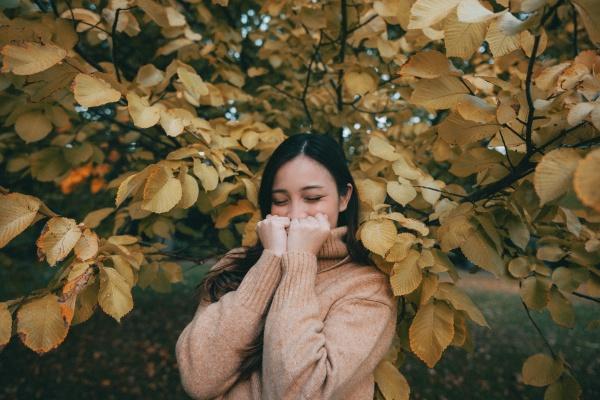 秋季亚洲美女写真高清图片