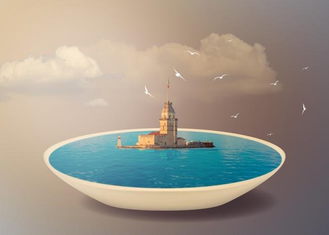 创意海岛另类设计图片大全