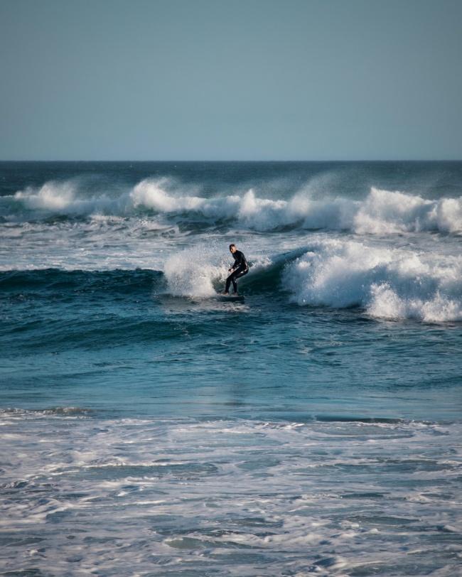 海上冲浪运动高清图