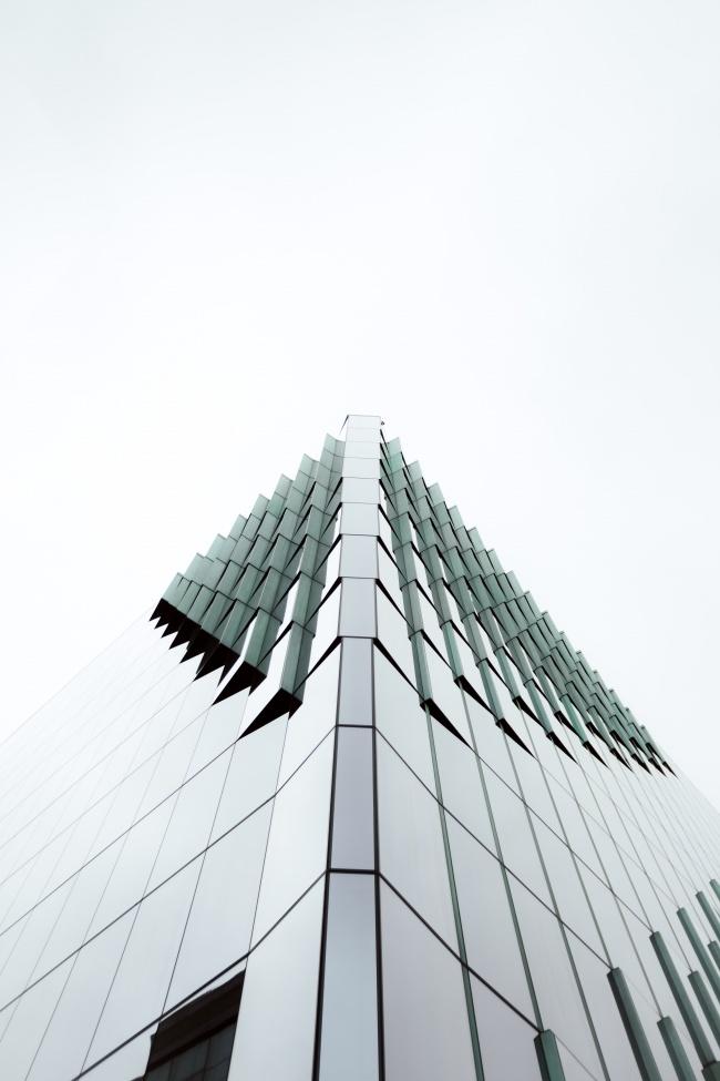玻璃窗现代商务大楼图片