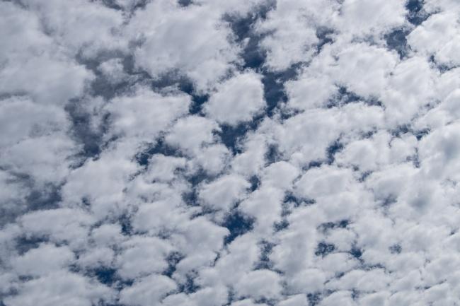 高白色浮云风景图片素材