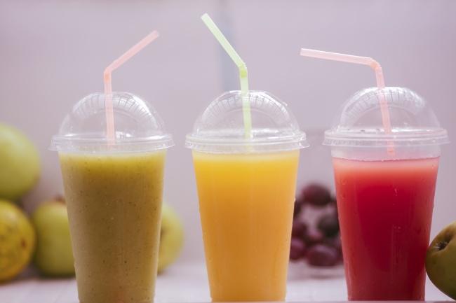 多口味果汁饮料精美图片