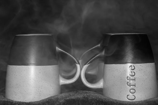 咖啡杯马克杯高清图