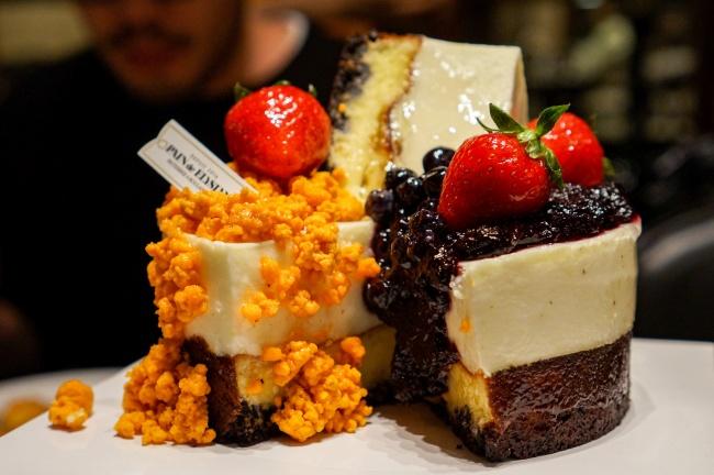 多口味蛋糕图片素材
