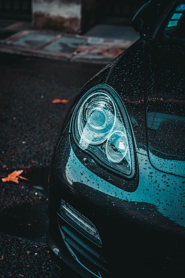 汽车前灯高清图
