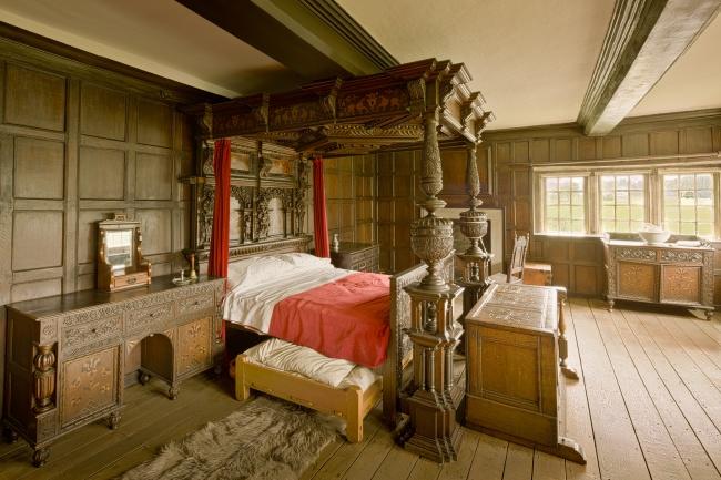 欧式古典卧室家具图片素材