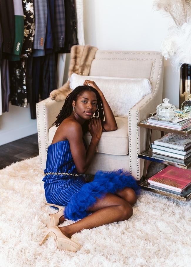 非洲黑人美女人体模特高清图