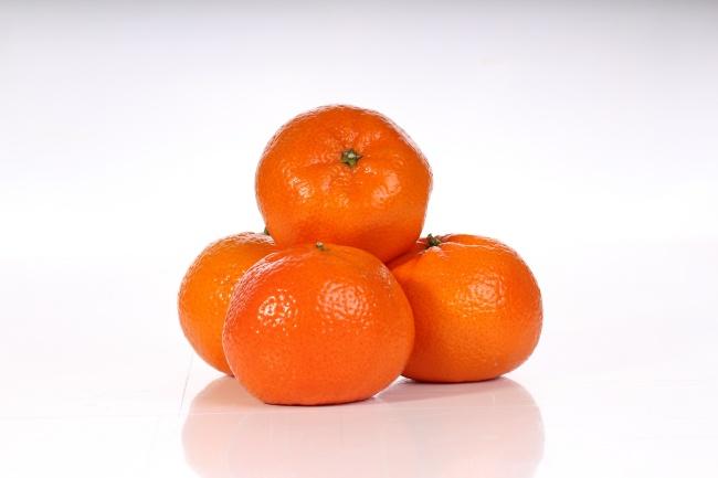 橙色橘子图片