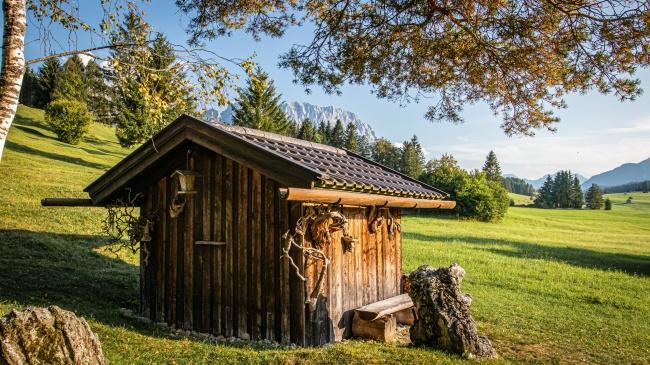 乡野小木屋图片下载