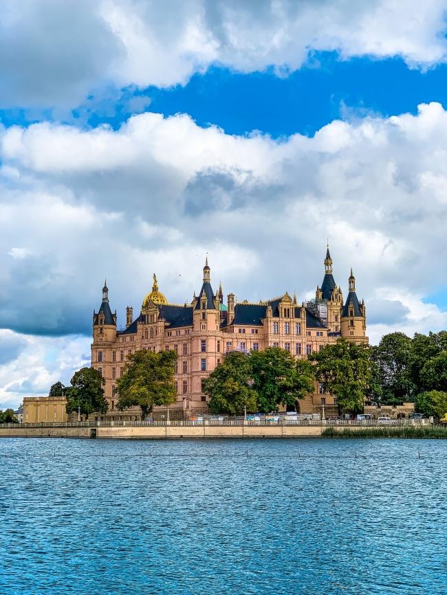 德国施韦林城堡图片素材