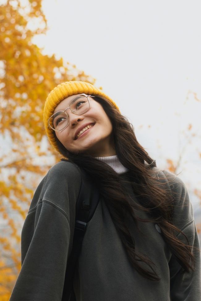 秋冬卫衣女生精美图片