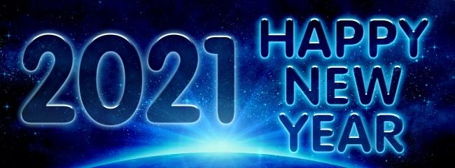 2021年新年快乐高清图