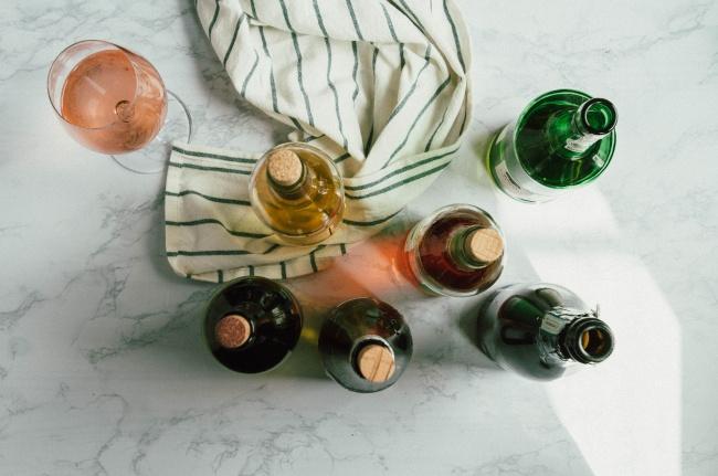 红酒香槟酒瓶图片下载